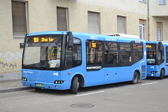 BKV Zrt NLE-849 (Will Swain) Tags: széll kálmán tér budapest 6th january 2018 bus buses transport travel vehicle vehicles county country central capital city centre hungary europe bkv zrt nle849
