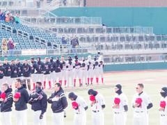 Anthem 003 (mwlguide) Tags: cooleystadium cooleylawschoolstadium oldspark 4071 lansing jacksonfield field ballyard ballpark oldsmobilepark midwestleague stadium omd em1 april em1ii 2018 olympus omdem1mkii michigan greatlakesloons leagues lansinglugnuts baseball