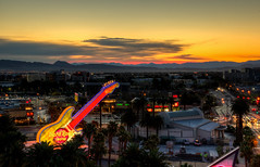 The Hard Rock Hotel & Casino (ap0013) Tags: hard rock hotel casino neon sign sunrise sun morning las vegas nevada nv lasvegas hardrock neonsign color lasvegassunrise sunset