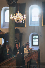 The Light. Orthodox Easter (Tanjica Perovic) Tags: church interior windows candles women standing worship easter orthodox serbia light