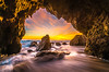 Malibu Sea Cave Sunset! Red & Orange Clouds Seascape Ocean Landscape Photos! High Resolution California Sunset Photos! Socal Stormy Skies El Matador Beach Sunset! Elliot McGucken High Res Fine Art Landscape & Nature Photography Scenic California Sunset! (45SURF Hero's Odyssey Mythology Landscapes & Godde) Tags: malibu sea cave sunset red orange clouds seascape ocean landscape photos high resolution california socal stormy skies el matador beach elliot mcgucken res fine art nature photography scenic