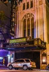 the california theater (pbo31) Tags: boury pbo31 2018 d810 color april nikon california bayarea spring sanjose southbay santaclaracounty city urban siliconvalley night dark theater historic 1st opera downtown