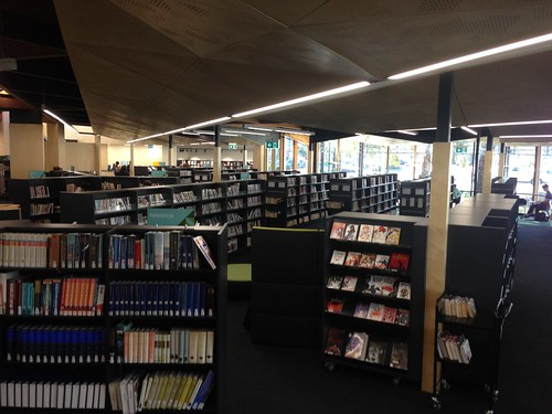 Interior of Balwyn Library
