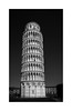 Torre de Pisa... (protsalke) Tags: pisa tower blackandwhite bw blancoynegro lights luces sombras shadows monochrome architecture sky composition monocromatico arquitectura italy italia