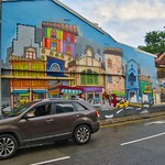 Colorful mural in Little India, Singapore thumbnail
