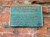 The Gatehouse Sign At Waltham Abbey. (Jim Linwood) Tags: waltham abbey england