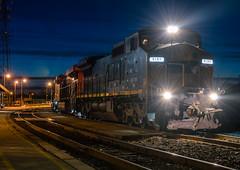 Those Brantford Nights (Joseph Bishop) Tags: gecx ge c408w lease 9135 night shots cndundassubdivision tt trains train track tracks railfan railroad railway rail rails brantford