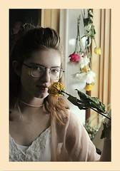Flower Child  *  2018 (NEONPASTEL) Tags: flower child inside glasses boarder boho portrait