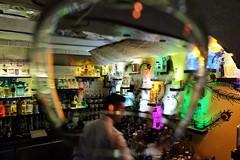 Blurred Vision (Douguerreotype) Tags: bar city people night street malta urban valletta glass