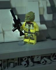 Bossk (Ben Cossy) Tags: bossk bounty hunter trandoshian trandosha empire strikes back star wars clone rebels lego afol tfol moc minifig minifigure fig