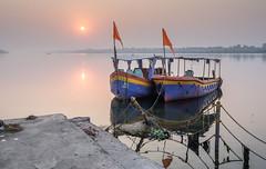 P2240321 (klausen hald) Tags: madyar pradesh maheshwar ghat india narmada olympus madhyapradesh khargone m43