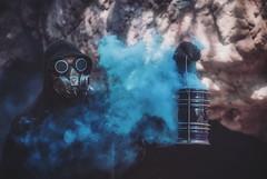 Steampunk Dreams (josht712) Tags: enola smoke lantern experiment 5d 5ds canon photography art conceptual steampunk
