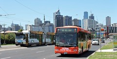 Driver Buslines #59 passes B2.2035 (damoN475photos) Tags: 59 driver buslines b2 b2035 footscrayrd docklands denning phoenix low floor cat customcoachescb60 evo ii