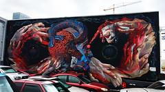 Ad Infinitum by Case Maclaim & Smith One (wiredforlego) Tags: graffiti mural streetart urbanart aerosolart publicart powwowhawaii powwow oahu honolulu hawaii hnl smithone casemaclaim