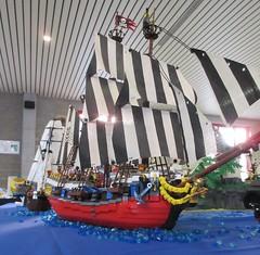 IMG_5608 (sebeus) Tags: lego brickmania wetteren 2018 exhibition pirate layout island ship sea ocean fort beach port harbor town