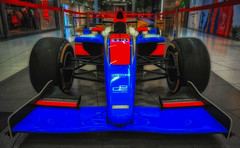 Dallara (try...error) Tags: race car formula gp racing blue red rot blau racecar redbull ferrari renault mclaren lotus toyota 1 2 gp2 series honda italy indy