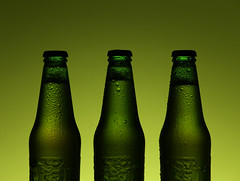 3 Kings (thor_thomsen) Tags: studio tabletop product beer bottles green advertising commercial