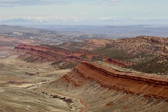 Red Canyon Overlook, South Pass, Wyoming (carfull...in Wyoming) Tags: windriver wyoming redcanyon southpasscity lander sandstone greatbasin mountains cliffs desert