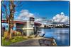 South Park Bridge (NoJuan) Tags: pacificnorthwest washingtonstate seattlewa southparkseattle marina boating moorage olympuspenf microfourthirds micro43 m43 olympus1250mmf3563 olympusartfilter bridge