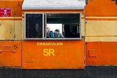 Shouldn't one of you be watching *this* side? (JohnKuriyan) Tags: kottayam kerala india in
