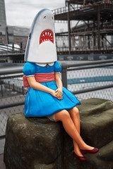 """Shark Girl"" @ The Ice at Canalside (Buffalo, New York)"
