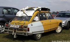 Citroën Ami 8 Club 1970 (XBXG) Tags: 0980ms citroën ami 8 club 1970 citroënami8 citroënami ami8 yellow jaune bouton dor lpg gpl citroën2cv 2cv6 2pk eend geit deuche deudeuche atype markt 2018 gemert koks koksedijk noordbrabant brabant nederland holland netherlands paysbas vintage old classic french car auto automobile voiture ancienne française vehicle outdoor