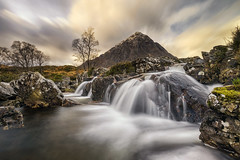 The Iconic Stob Dearg & River Coppull Waterfall, Scotland (MelvinNicholsonPhotography) Tags: glencoe rannochmoor waterfall rivercoupall scotland scottishhighlands