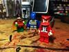 Brimstone (Lord Allo) Tags: lego batman robin brimstone nicolas lucien satan girl lord satanis the three devils snowflame dc
