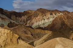 Colorful Geology in Death Valley (Jeffrey Sullivan) Tags: death valley national park colorful eroded landscape nature travel photography furnace creek california usa canon eos 6d photo copyright march 2018 jeff sullivan geology minerals badlands