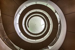 northeastern-isec2 (andrewryder) Tags: northeastern university northeasternuniversity neu boston massachusetts ma spiralstairs stairs staircase geometric architecture modern helix