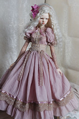Lucerne Field (AyuAna) Tags: bjd ball jointed doll dollfie ayuana design handmade ooak clothing clothes dress set outfit vetement robe gown historical secession edwardian style sd fairyland feeple60 size dim dollinmind gayane hybrid souldoll double body normalskin