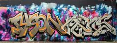 graffiti amsterdam (wojofoto) Tags: amsterdam nederland netherland holland ndsm graffiti streetart wojofoto wolfgangjosten tyson mens
