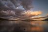 Atardecer. (Amparo Hervella) Tags: embalsedelajarosa comunidaddemadrid españa spain nube reflejo color naturaleza largaexposición d7000 nikon nikond7000