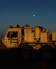 Desert Moonrise (Caleb McCary) Tags: army desert moon moonrise contrast truck ntc sony rx100 sunset