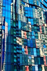 Melbourne reflections (NettyA) Tags: city iphone reflections glass building australia victoria southbank melbourne
