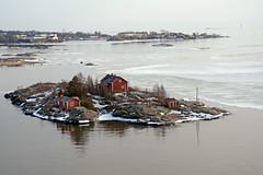 Helsinki harbour islands (JohntheFinn) Tags: suomi finland helsinki satama saari saaristo jää ice winter talvi europe