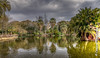Parc de la Ciutadella, Barcelona (cee live) Tags: park spain barcelona lake monument reflection canon flickr clouds cloudy