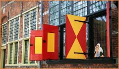 Maisons, Markt, Veere, Walcheren, Zeelande, Nederland (claude lina) Tags: claudelina nederland hollande paysbas zeelande zeeland veere window volet house maison