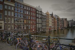Dias grises. Amsterdam.