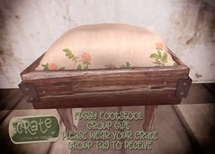 crate Fussy Footstool Group Gift 01 (crate.) Tags: groupgift mainstore opening decor