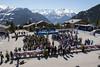 Ceremonie officielle et proclamation des resultats (Patrouille des Glaciers) Tags: alpinisme armee arrivee ceremonie course printemps ski verbier valais suisse ch pdg 2018