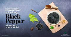 Halmari Brings the Carminative Spice King, Black Pepper to Zest Up Your Meals! (halmaritea) Tags: blackpepper buyblack pepper