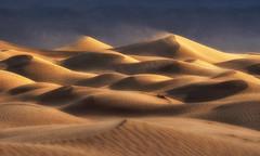 Awakening (Wind Walk) Tags: dunes sunrise death vally national park wind
