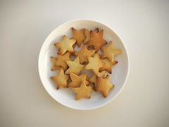 star_cookie_P1600099 (strange_hair) Tags: star cookie cook dish sweets