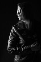 Dark lights (dandrasphoto) Tags: canon eos 1dxmkii 1dx mkii andras deak andrasdeak deakandras bea portrait blackandwhit bw ff fekete fehér portré monochrome glasses woman girl nice rocknroll lowkey sexy