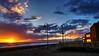 Atardecer y reflejos (zapicaña) Tags: zapigata azul blue almeria andalucia atardecer españa europa europe spain cabodegata cielo clouds cabo sky sea sunset sur south sun sol nubes landscape playa paisaje parquenatural