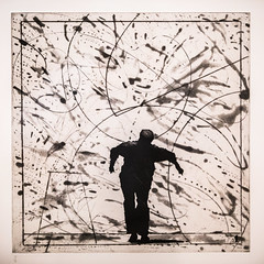 William Kentridge (Thomas Hawk) Tags: america california museum sfmoma sanfrancisco sanfranciscomuseumofmodernart usa unitedstates unitedstatesofamerica williamkentridge artmuseum painting us fav10
