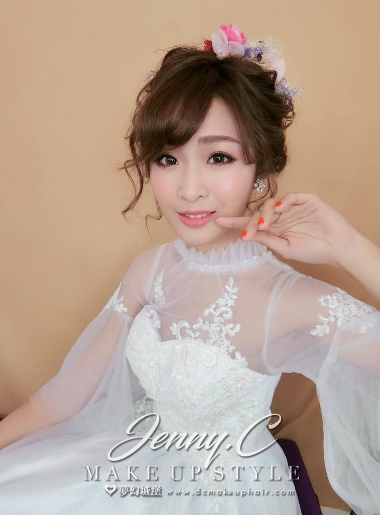【新秘蓁妮】新娘造型創作 / 日系娃娃造型