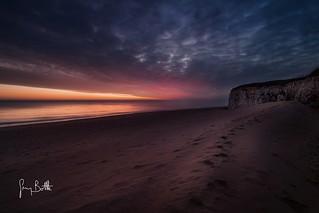 Moody sunrise, Joss Bay.
