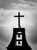 Church Bells Silhouette (mjhedge) Tags: getolympus olympus oly em1mkiiomdem1markii omdem1mkii omd church steeple bells silhouette naples florida 12100mm 12100mmf4